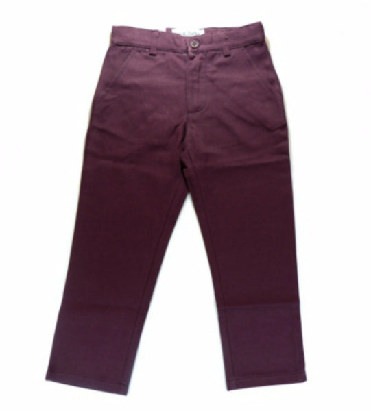 Grape Slim Fit Casual Pants