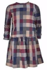 Plaid Pattern Dress