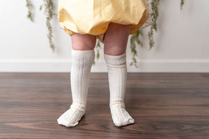 SWEET CORN KNEE HIGH SOCKS