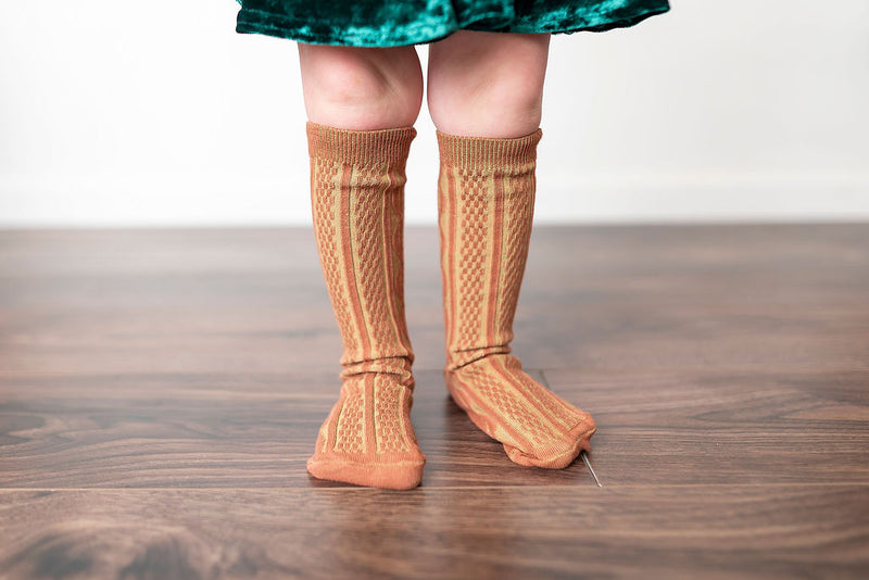 CINNAMON | KNEE HIGH SOCKS