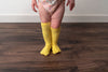 LEMON YELLOW KNEE HIGH SOCKS