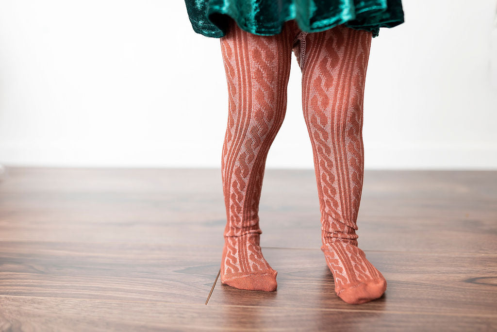 GINGERBREAD | CABLE TIGHTS