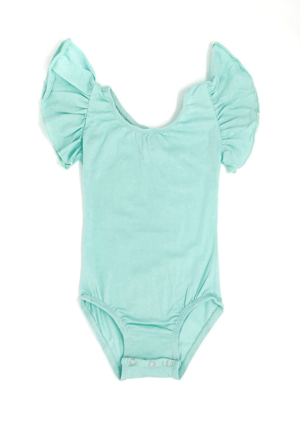 MINT | FLUTTER SLEEVE LEOTARD