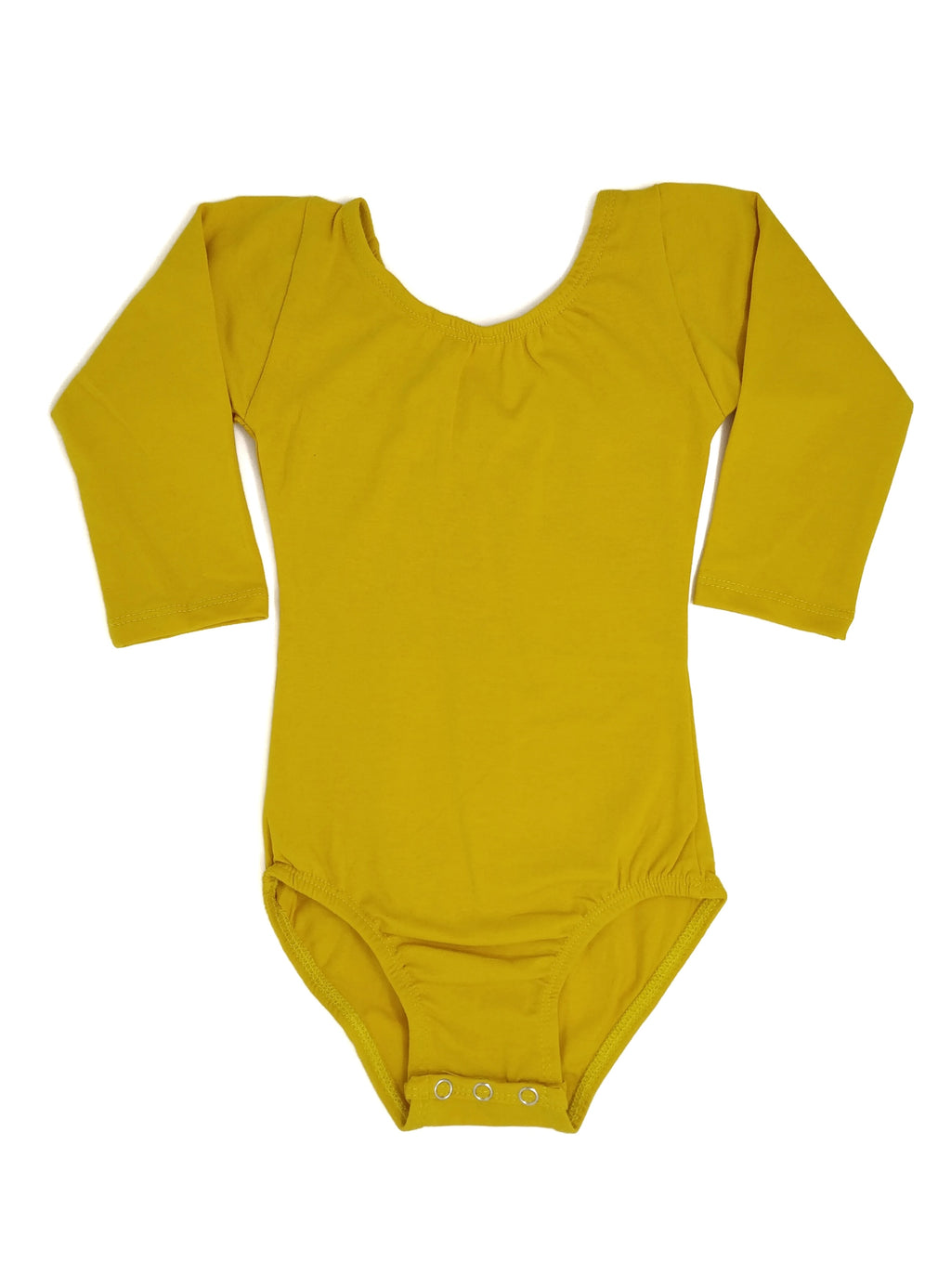 MUSTARD | LONG SLEEVE LEOTARD