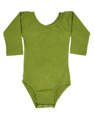 OLIVE | LONG SLEEVE LEOTARD