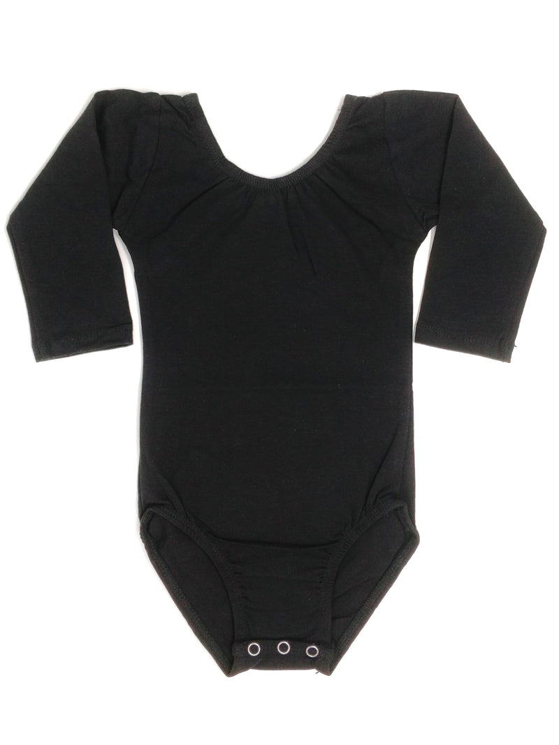BLACK | LONG SLEEVE LEOTARD