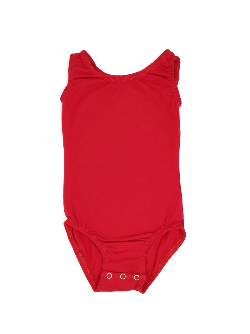 RED | SLEEVELESS LEOTARD