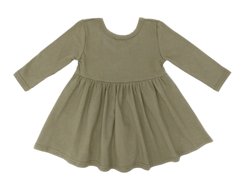 OLIVE | TWIRL DRESS