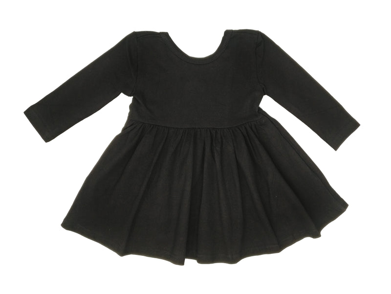 BLACK | TWIRL DRESS
