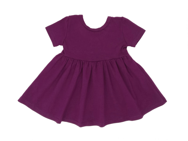 PLUM | TWIRL DRESS