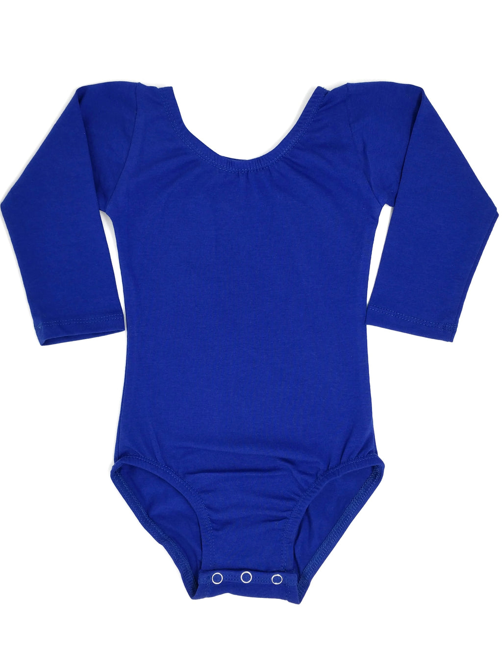 ROYAL BLUE | LONG SLEEVE LEOTARD