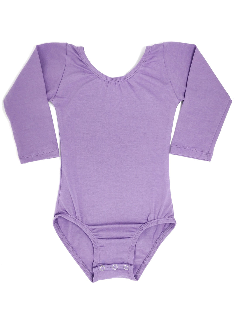 LAVENDER | LONG SLEEVE LEOTARD