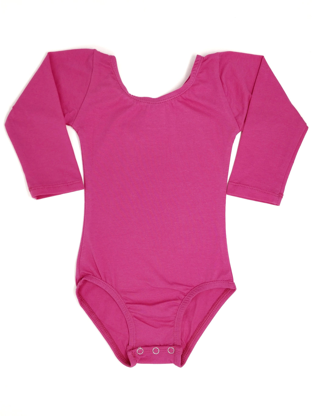 HOT PINK | LONG SLEEVE LEOTARD