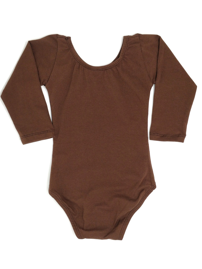 BROWN | LONG SLEEVE LEOTARD