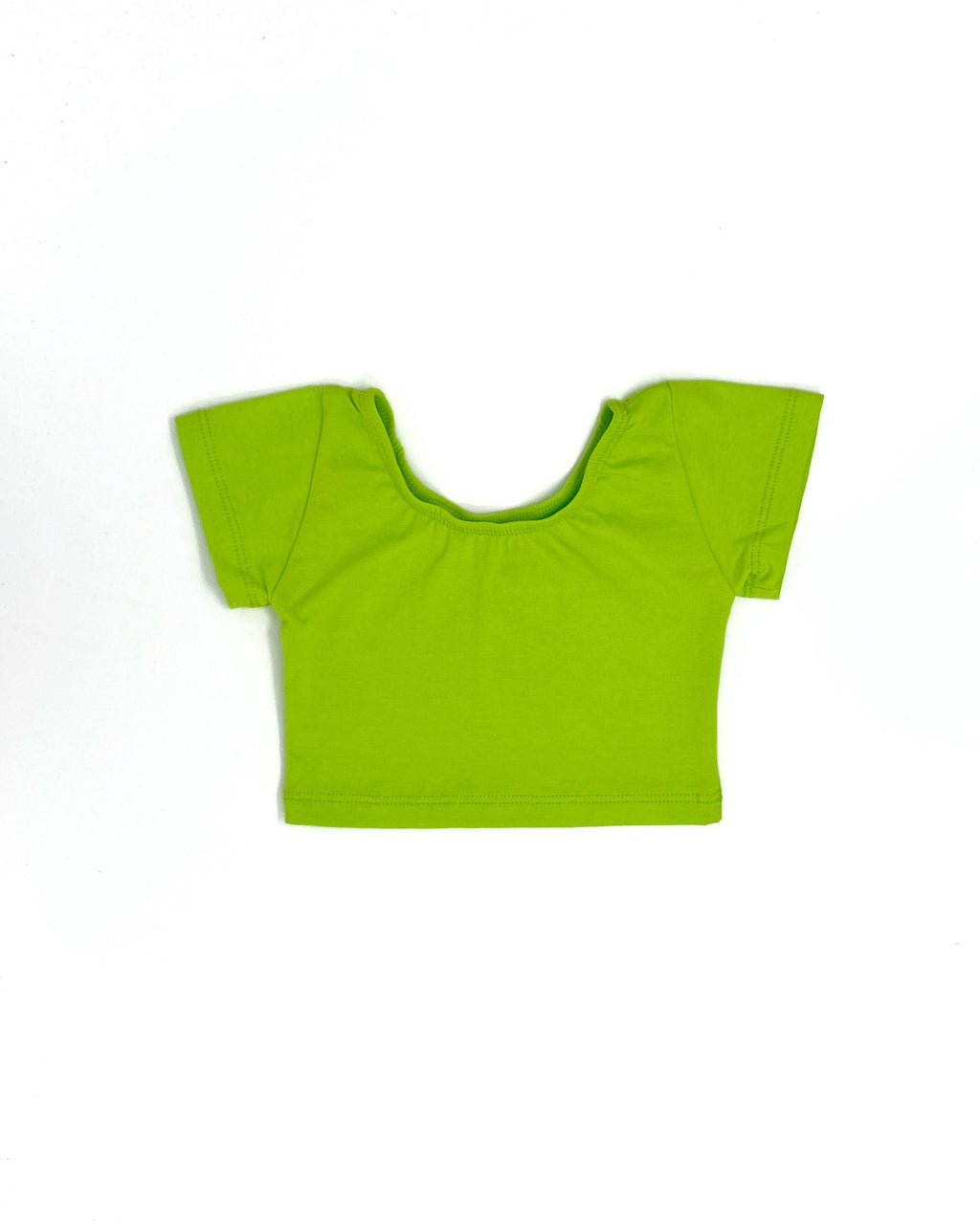 LIME GREEN | CROP TOP