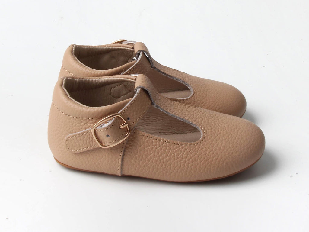 TAN | T-STRAP MARY JANE