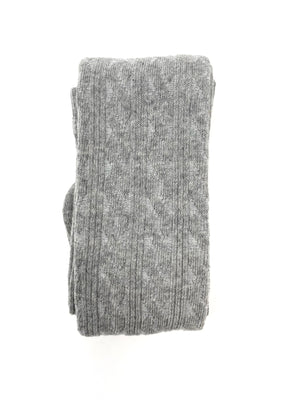 LIGHT GREY | CABLE KNIT TIGHTS