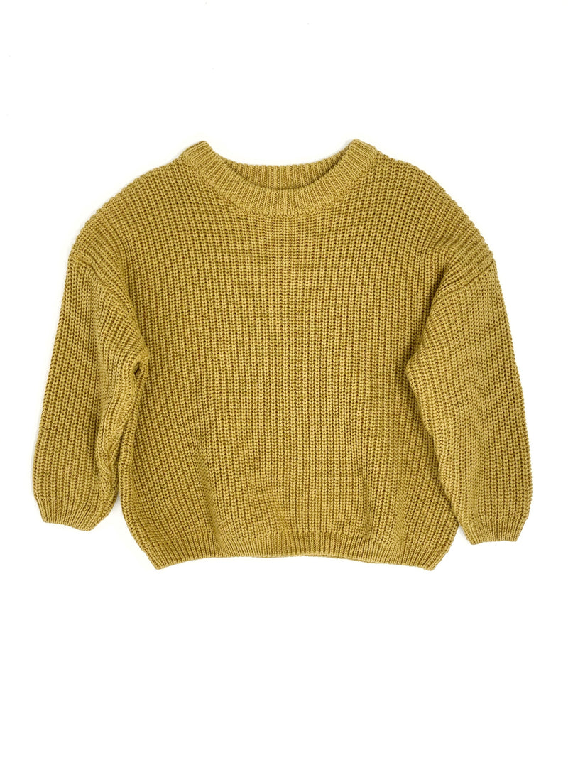 MUSTARD | OVERSIZED SWEATER