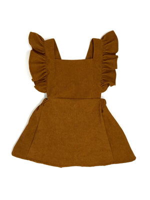 BROWN CORDUROY | PINAFORE