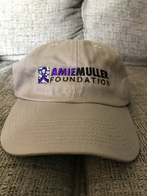 Amie Muller Foundation Low-Profile Hat- Khaki