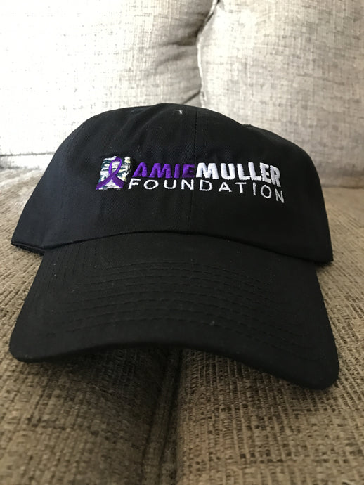 Amie Muller Foundation Low-Profile Hat- Black