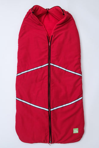 baby parka stroller cover red