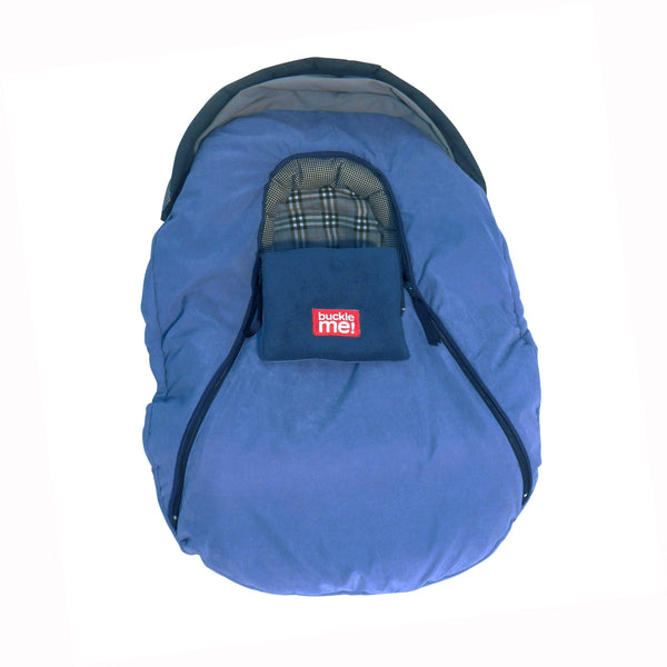 car seat cover - shower cap style - stone