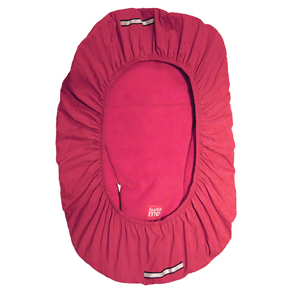 car seat cover - shower cap style - red