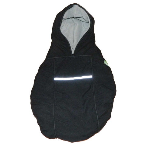 carrier coat - black