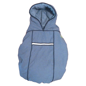 carrier coat - blue