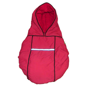 carrier coat - red