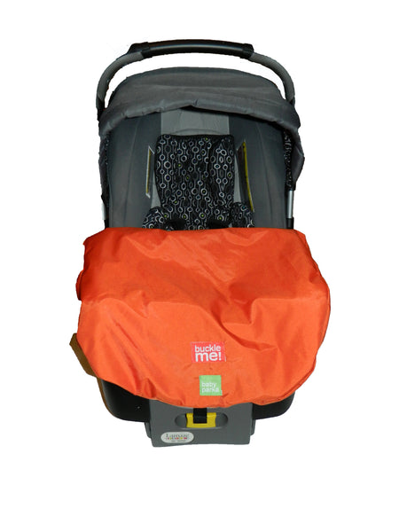 spring car seat cover - orange
