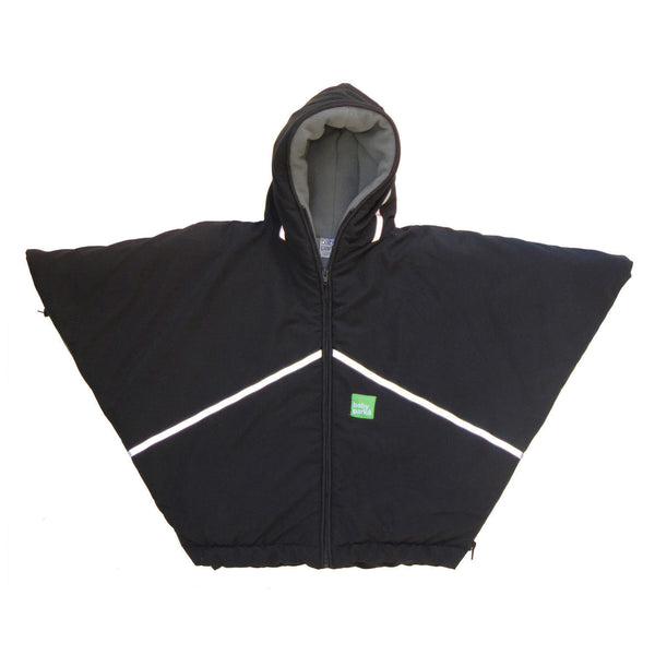 toddler car coat/poncho - black