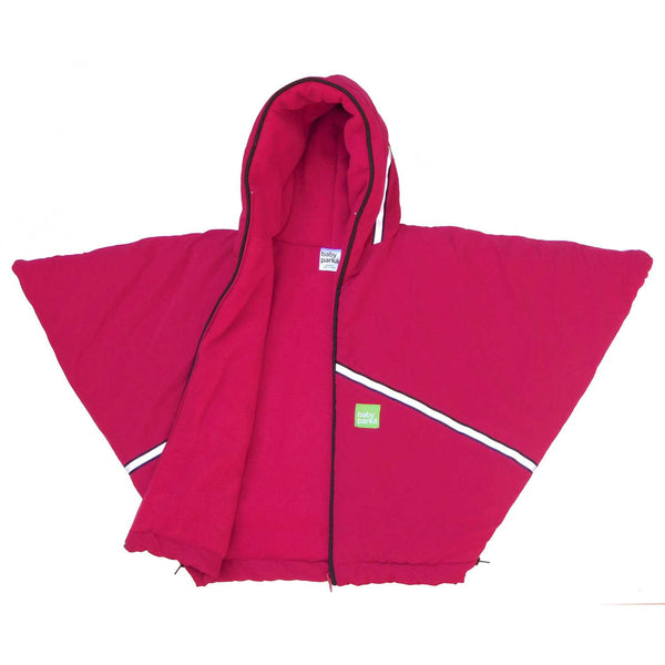 toddler car coat/poncho - red