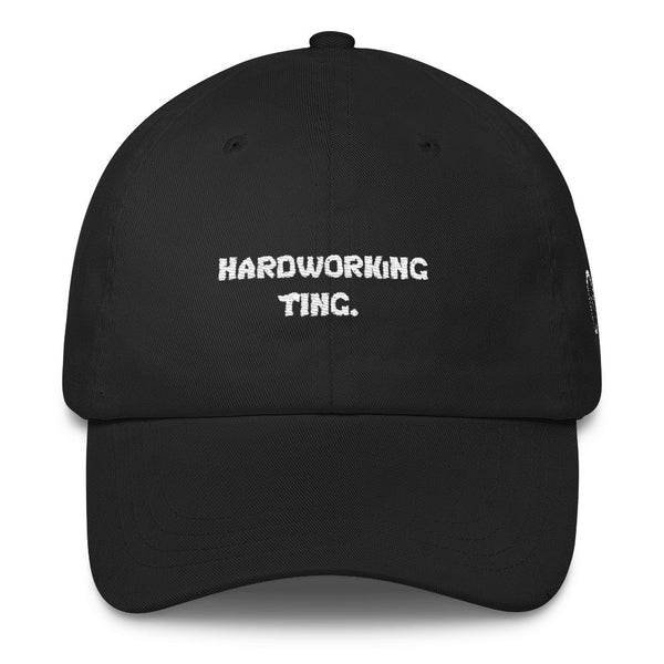 Hardworking Ting Dad Cap