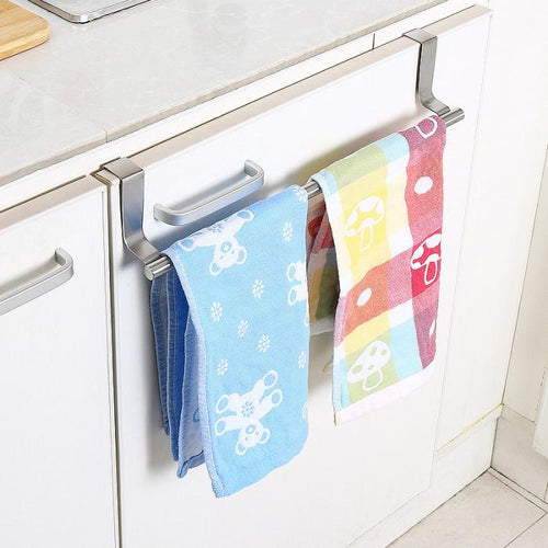 Stainless Steel Towel Bar Holder Kitchen Cabinet
