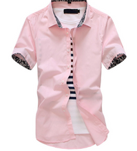 mens short sleeve casual shirts
