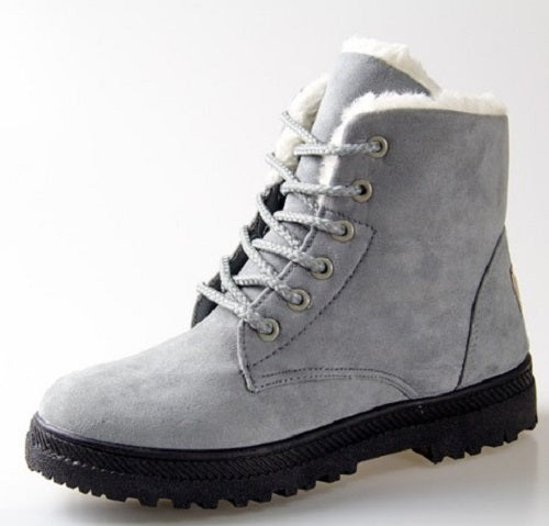 Women Winter Warm Snow Boots Big Size 10-11US