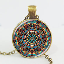 Design Necklace  Kaleidoscope Mandala Necklace