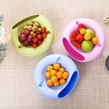 Multifunction Creative  Double Layer  Snack/ fruit Plates