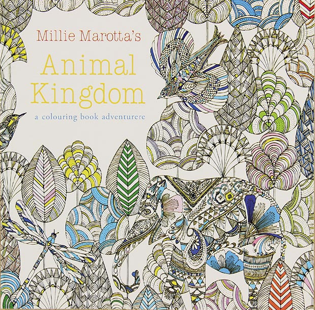 Explore Wonderland Coloring Book Animal kingdom