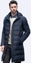 Mens  Winter Double Breasted Overcoat Trench Long Coat plus big size warm Jacket