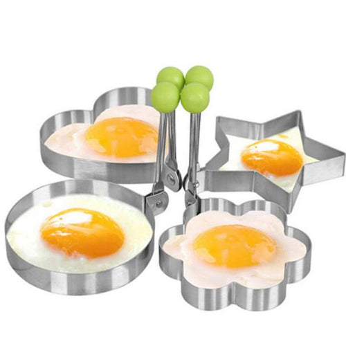 Stainless Steel Fried Egg Shaper egg Pancake Ring