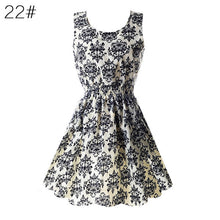 Fashion Women Dress Chiffon Sleeveless