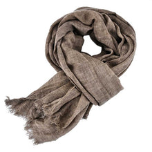 Mens scarf Autumn Warm Shawls Cotton Scarves Acrylic Cotton Polyester