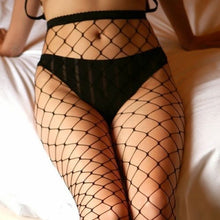 US STOCK Women Ladies Black Big Mesh Fishnet Net Pattern Pantyhose Stockings