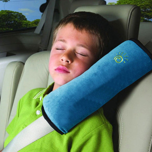 Children/Child Car Soft Headrest Pillows Strap Soft