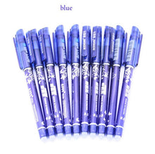 Special 10pcs Erasable Pen Blue / Black