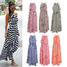 Women Summer Long Dress  Casual  Maxi Beach