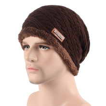 Men's Winter Hat  Bonnet  Baggy Wool Knitted Hat